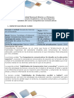 Syllabus Competencias Comunicativas