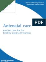 Antenatal Care - NHS