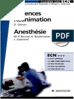 Cahier des Urgences et Réanimation