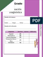 Examen Diagnostico 4o Grado