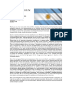 Argentina Document Humanities