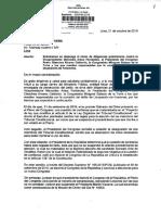 Denuncia penal contra Mercedes Araoz, Pedro Olaechea y Milagros Salazar