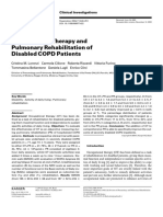 Occupational Therapy and Pulmonary Rehabilitation of Disabled COPD Patients (2004)