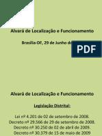 Alvará de Funcionamento Lei 4.201-08