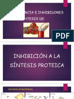 Resistemcia e Inhibidores de La Sintesis