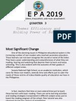 2019 SMEPA Q3