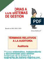 Exposición de Auditorias