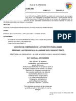 11 Grado - Ejercicio de Comprensin de Lectura Tipo Prueba Saber-convertido