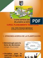 Conceptos de Planificacion