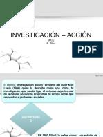 Investigación Acción. Clase 2