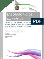 GUIA DE LABORATORIO 02 PROGRAMANDO CON MATLAB
