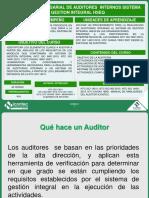 Formacion Empresarial para Auditores Internos