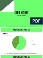 PDF Report Diet Habit in Indonesia