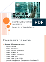 Sound Measurements