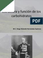 Estructura y Funcion de Carbohidratos