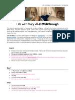 Life With Mary v040 Walkthrough