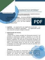 Diagnostico Interno DE LAS ORG.