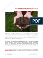 Fertilizers & Soil Additives Industry in India