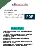 Solar Cell Prelim
