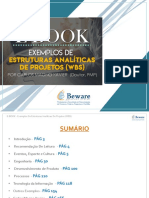 Exemplos de EAP - Estrutura Analítica do Projeto