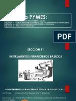 NIIF para PYMES secciones 11, 12, 18 y 22