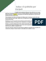 11- Gli Alimenta Italiae e Le Politiche Per l
