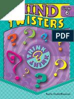 Hart Melissa. - Mind Twisters. Grade 6