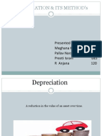 Depreciation & Its Method's