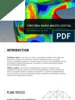 Structural Matrix Analysis (CEET526) Lecture 1