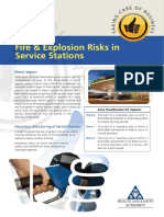 Fire and Explosion Risks at Service Stations