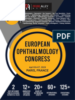 Euro Ophthalmology 2020 Scientific Program