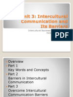 Intercultural communication and its barriers