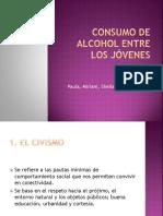 Consumo de Alcohol Entre Los Jóvenes