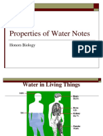Lecture Water