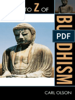 A to Z of Buddhism the a to Z Guide Series 2009-1