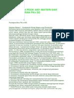 Rangkuman Pdgk 4401 Materi Dan Pembelajaran Pkn Sd