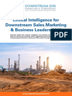 Intelligence for Petrochemical Marketing