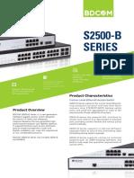 Distribution Switch - BDCom S2528-B
