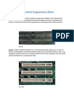 Computer System Expansion Slots