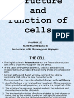 2. Structure and Function of Cells