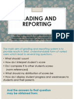 Assessment of Learning 2 Report