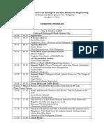 rcgeoe 2019 scientific program