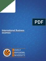 Dcom501 International Business