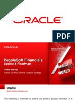 PeopleSoft Financials Roadmap 2012