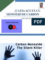 Intoxicatia Cu Monoxid de Carbon