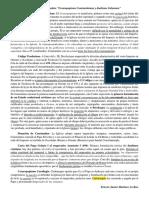Comentario de Cesaropapismo Constantiniano y Dualismo Gelasiano