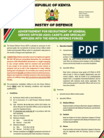 Recruitment of GSO Cadets and Specialist Officers Advert (1)