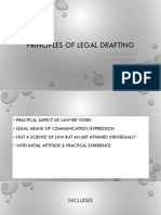 Principles of Legal Drafting