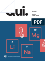 Química 2 - Métodos de Separação de Mistura