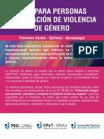 Guía para personas en situación de violencia de género